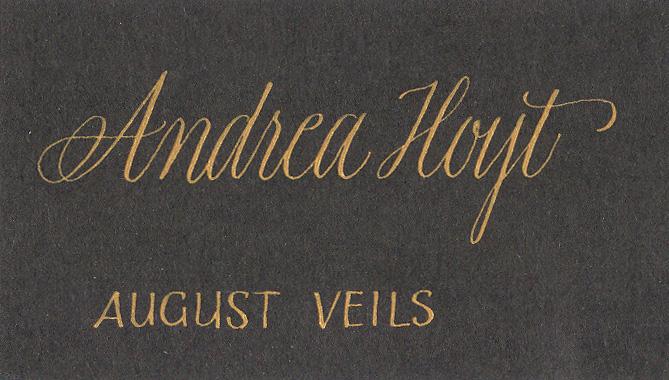 Andrea - nametag