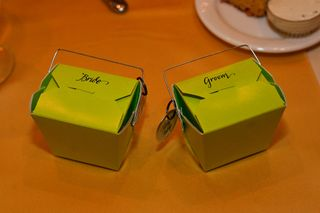 Bride & groom boxes