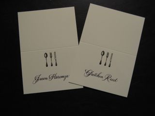 Gretchen place cards