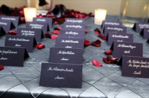 Tara's placecards