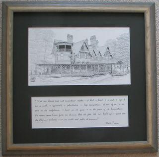 Twain framed