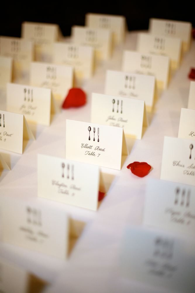 reinhart escort cards paul rich - Table Place Cards